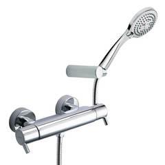 Смеситель термостатический для ванны с душевым комплектом DRAKO 333402T3