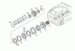 Конус синхронизатора 3-й/4-й передач 16S151/181/220/221  ZF 1316304159 81324250158
