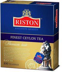 Чай чёрный  Riston Ceylon Premium 100*1.5г