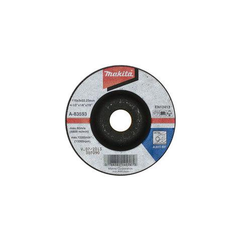 Отрезной диск по металлу Makita A30 125x3 мм