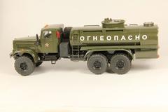KRAZ-255 fuel tanker khaki Agat Mossar Tantal 1:43