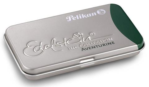 Pelikan Edelstein Чернила (картридж), зеленые, 6 шт в упаковке