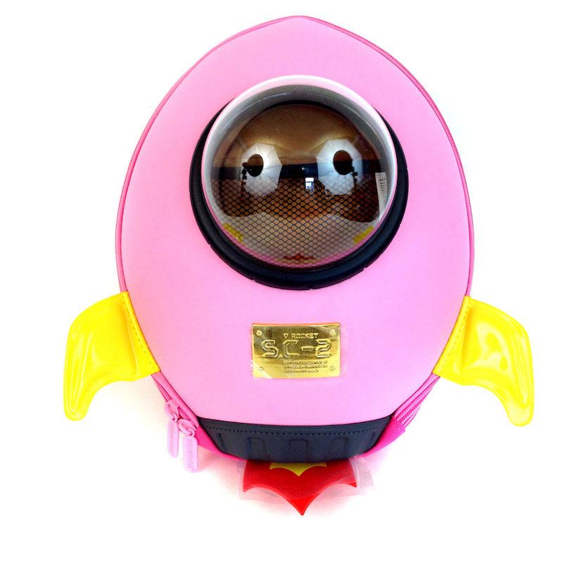 Розовый цветовой вариант Rocket backpack