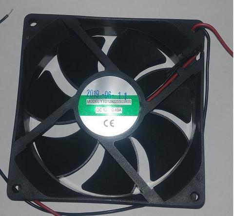 Вентилятор QUATTRO ELEMENTI 92х92х25мм (12В 0,4А) B225 с номера 0817TP095926 (30712173)