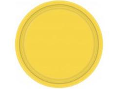 Тарелка Yellow Sunshine 17см 8шт/A
