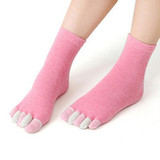 Женские носки 5 пальцев