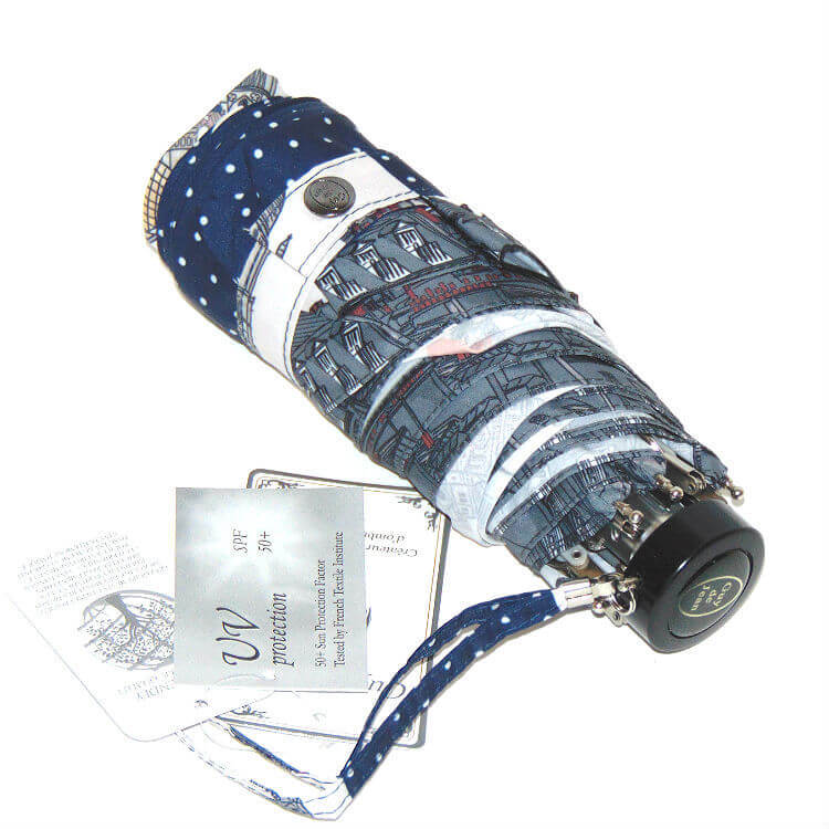 Зонт микро Guy de Jean 4004-3 Paris stripe