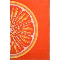 Полотенце махровое пестротканое Grapefruit