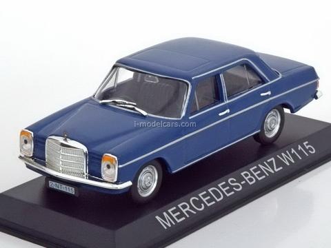 Mercedes 220-8 W115 blue 1:43 DeAgostini Masini de legenda #56
