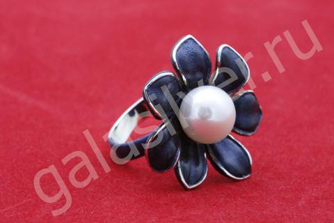 Кольцо с жемчугом Серебро - 925