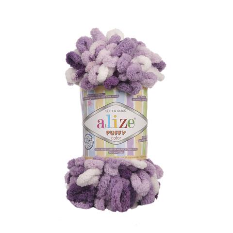 Купить Пряжа Alize Puffy Color Код цвета 5923 | Интернет-магазин пряжи «Пряха»