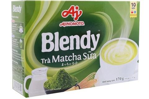 Пудровый чай матча Blendy со сливками 3в1 - 10х17 гр.