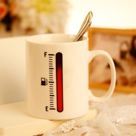 Кружка с термометром