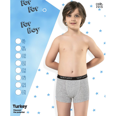 Трусики-боксеры мальчику (86-176) 191217-YN7015