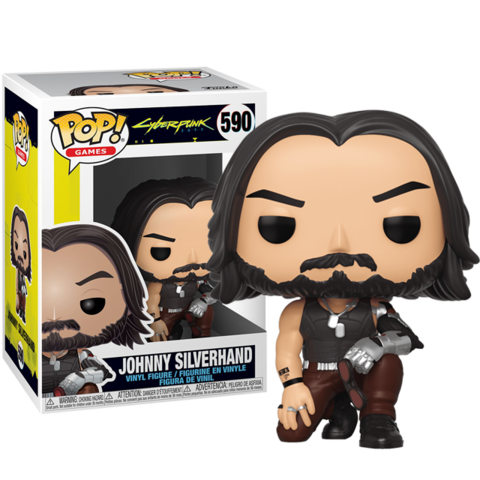 Фигурка Funko Pop! Games: Cyberpunk 2077 - Johnny Silverhand