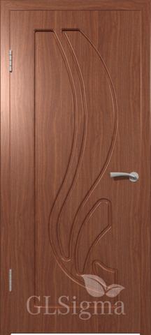 Дверь GreenLine Sigma-81, цвет итальянский орех, глухая