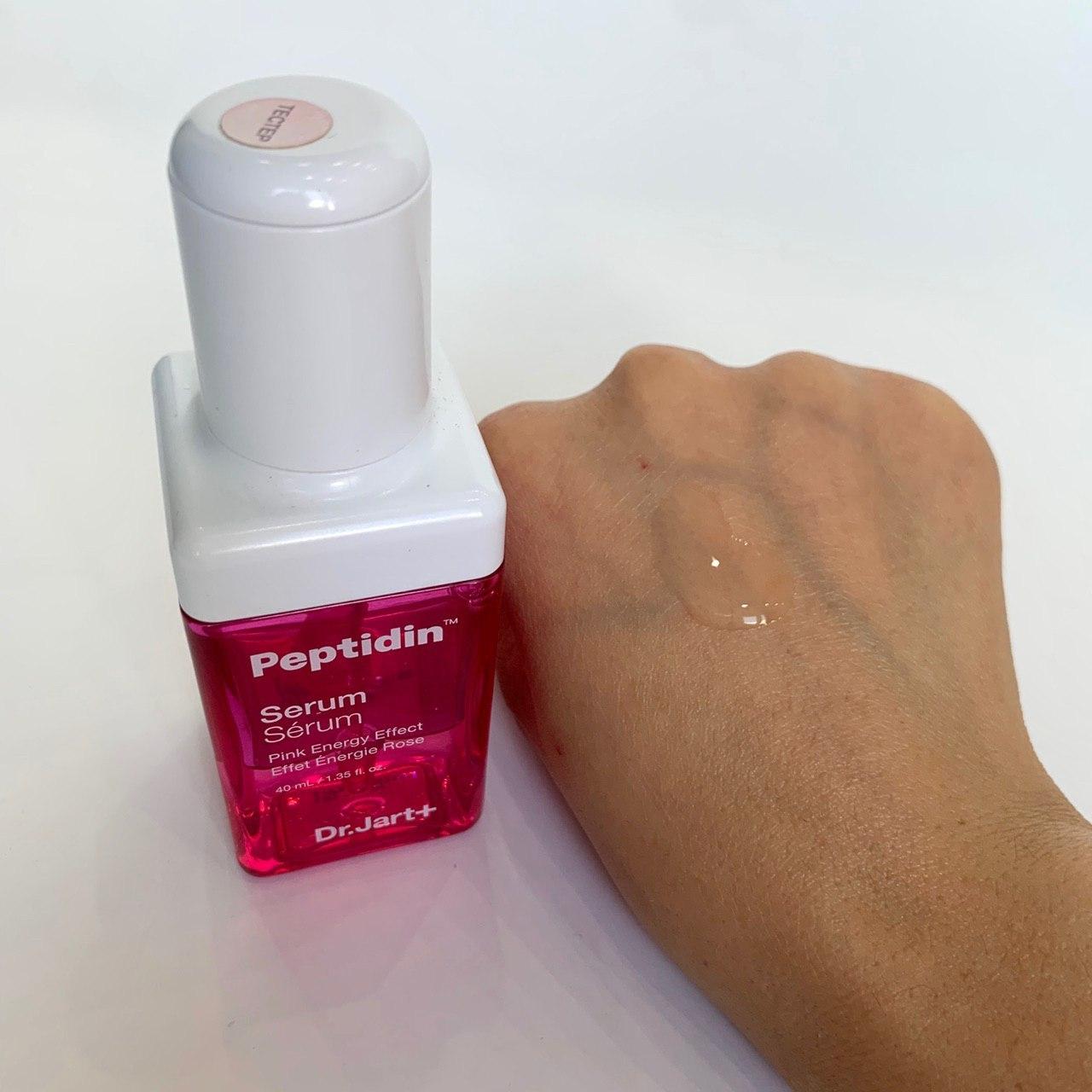 Сыворотка Dr. Jart+ Peptidin Pink Energy