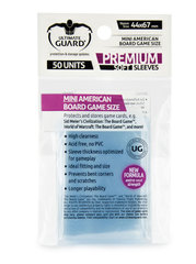 Premium Sleeves: BG Mini American (44x67)