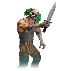 Batman Arkham City Action Figure Series 03 — Green Hair Clown