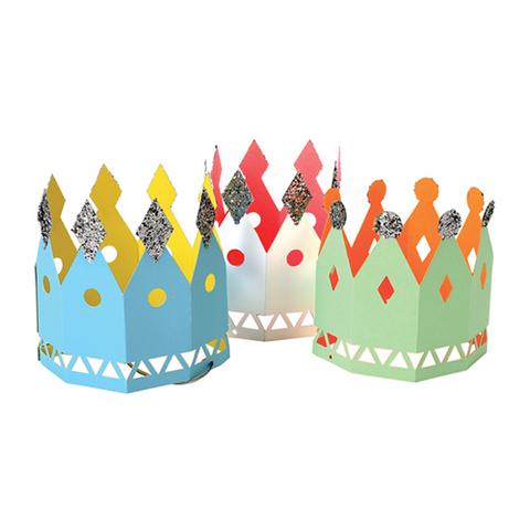 Короны праздничные бумажные