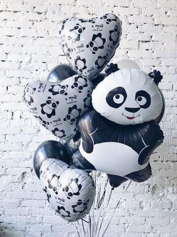 Фонтан из шаров Панда