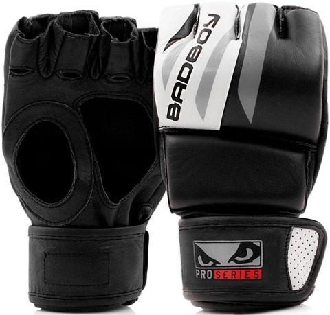 Перчатки для ММА Bad Boy Pro Series Advanced MMA Gloves-Black/White