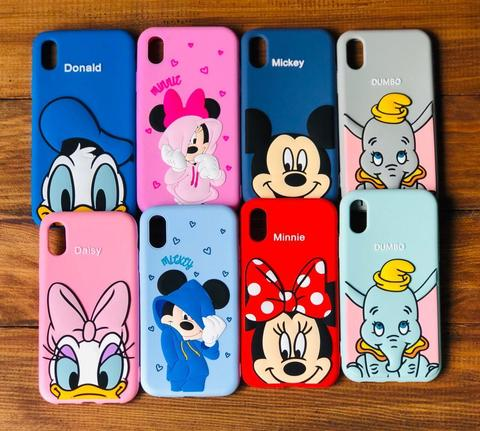 Чехол iPhone 7/8 Disney Minnie Mouse /pink/