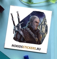 Стикер CARD WITCHER 2