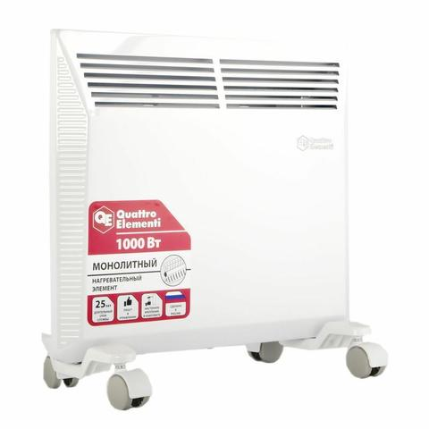 Нагреватель воздуха конвекторный QUATTRO ELEMENTI QE-1000KM (1 кВт). (790-526)