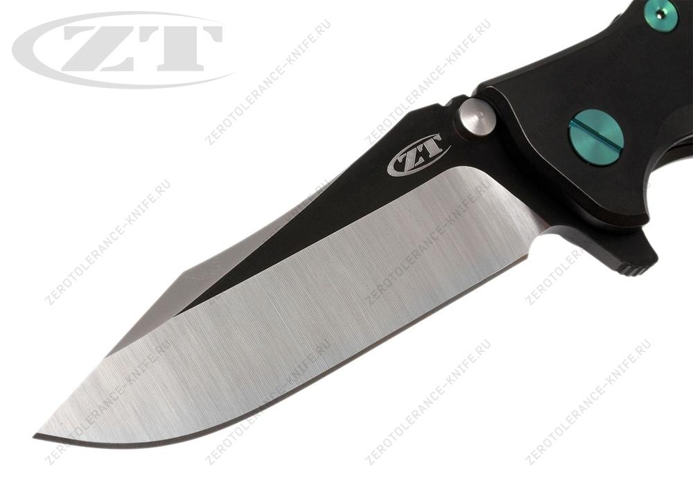 Нож Zero Tolerance 0392BLKGRN Hinderer - фотография