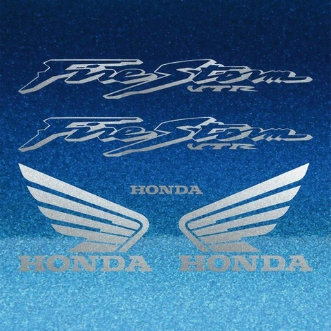 Набор виниловых наклеек на мотоцикл HONDA VTR 1000F FIRESTORM 2004