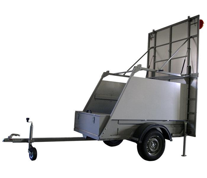 Заградительный прицеп FA-2 614