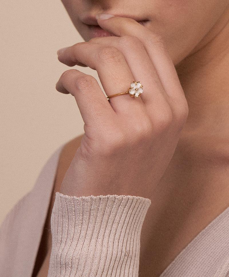 Кольцо Baby Petunia
