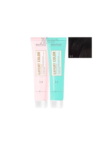 Expert Color Hair Color Cream 1/1 ледяной черный 100 мл