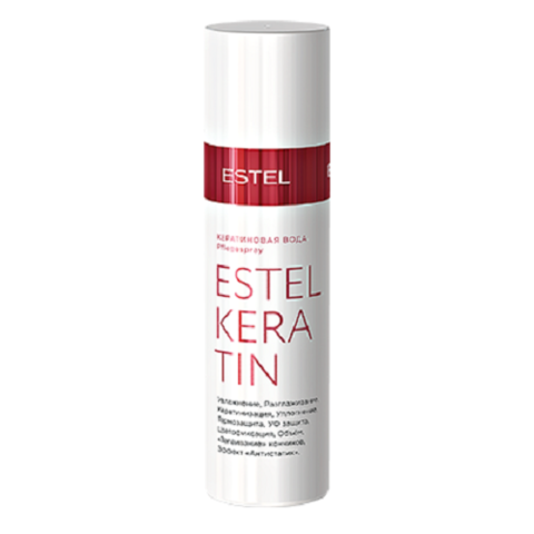 Кератиновая  вода для волос Estel Keratin, 100 мл
