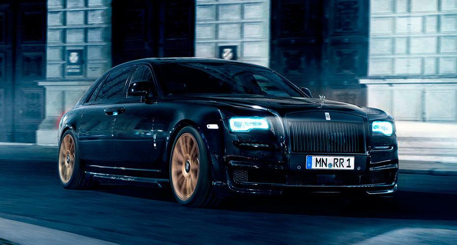Обвес Novitec для Rolls-Royce Ghost