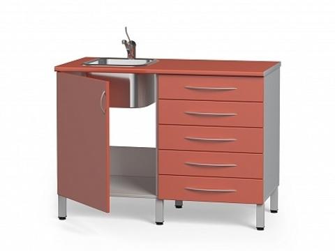 Комплект медицинской мебели БТ-04+БТ-02/5-100 - фото