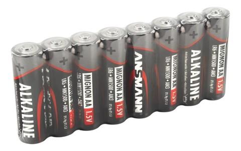 Батарейка щелочная AA ANSMANN Red 1.5V - 8шт