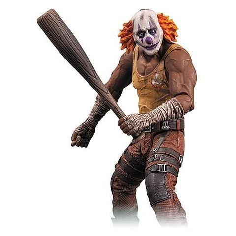 Batman Arkham City Action Figure Series 03 — Orange Hair Clown