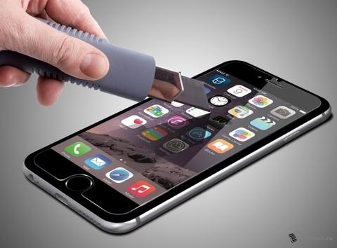Защитное стекло 2.5D 0,3 мм 9H Premium для iPhone 7 Plus (Глянцевое)