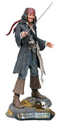 Pirates Of The Caribbean - Jack Sparrow 18-Inch Resin Statue