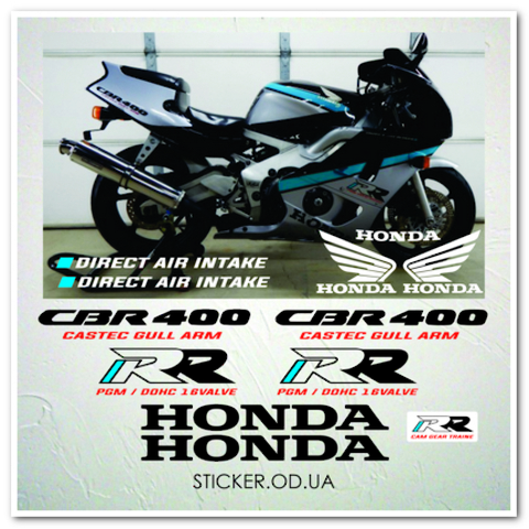 Набор наклеек  Honda CBR 400, 1994