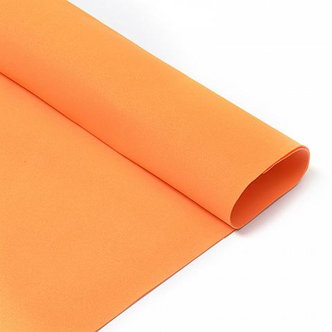 Фоамиран 1мм оранжевый