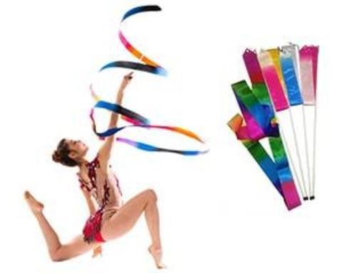 Купити стрічки для художньої гімнастики