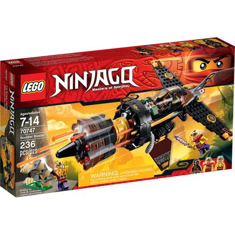 LEGO Ninjago: Скорострельный истребитель Коула 70747 — Boulder Blaster — Лего Ниндзяго