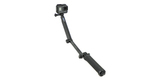 Монопод-штатив GoPro 3-Way Mount - Grip/Arm/Tripod (AFAEM-001) разложен с камерой