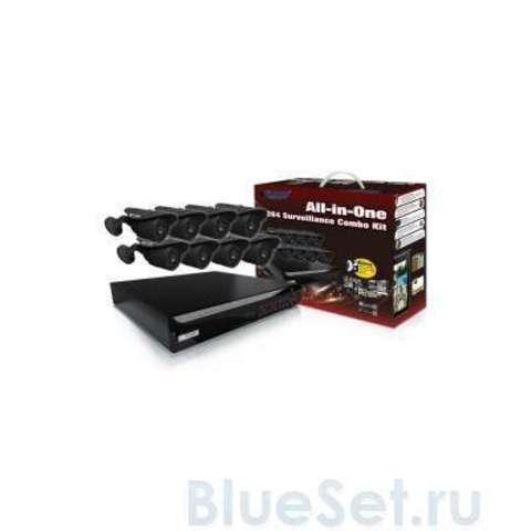 Система видеонаблюдения KGuard NS Series D1 16Ch + 8Cam (NS1601-8CW214H)