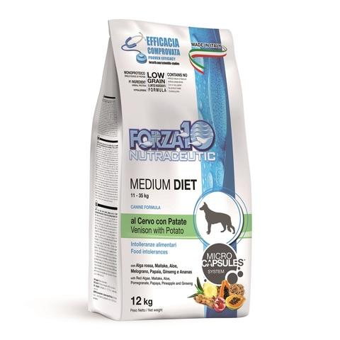 Forza10 Medium Diet Cervo/Patate (оленина/карт.) 25/12