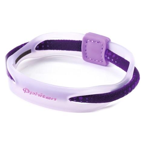 Браслет PHITEN RAKUWA BRACELET X50 HYBRID (фиолетовый)
