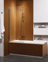 Шторка на ванну  Radaway Carena  PNJ 70 202101-101L  левая, крепится слева, профиль хром, стекло прозрачное 70x150см.